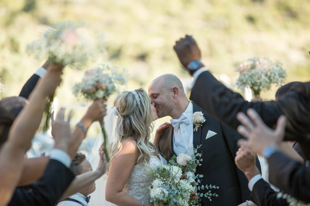 couples getting married at mount Charleston wedding